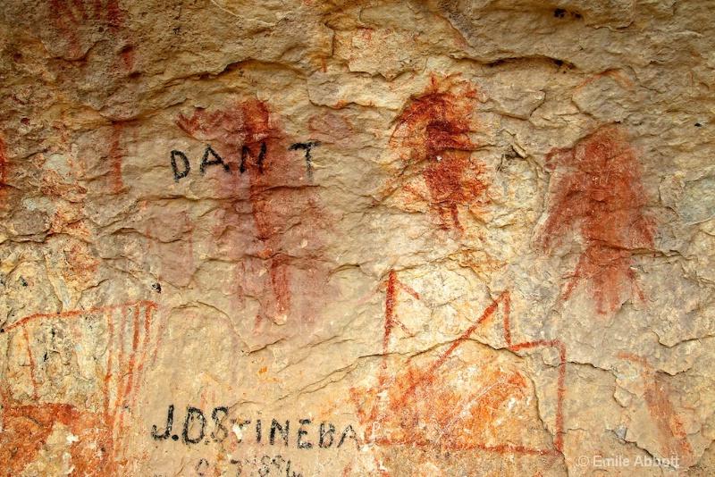 Dan T and JDStineba  paint initials