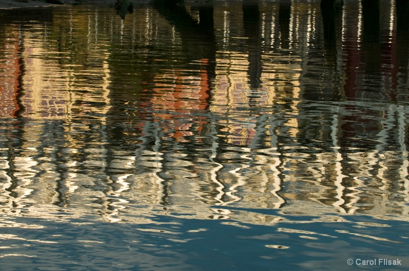 Evening Reflections 2 ~ Florence Harbor, OR