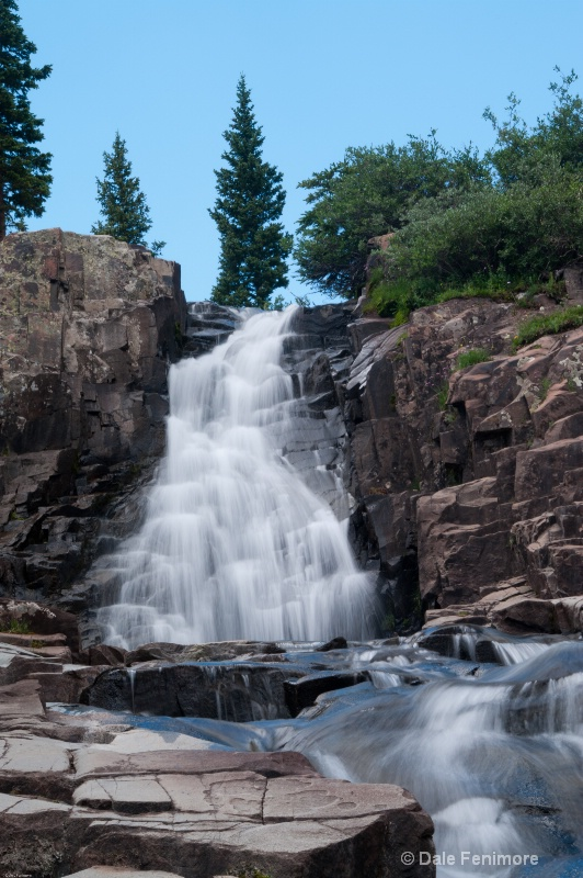 Left Falls of Twin Falls