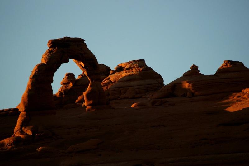 Landscape Arch Sunset
