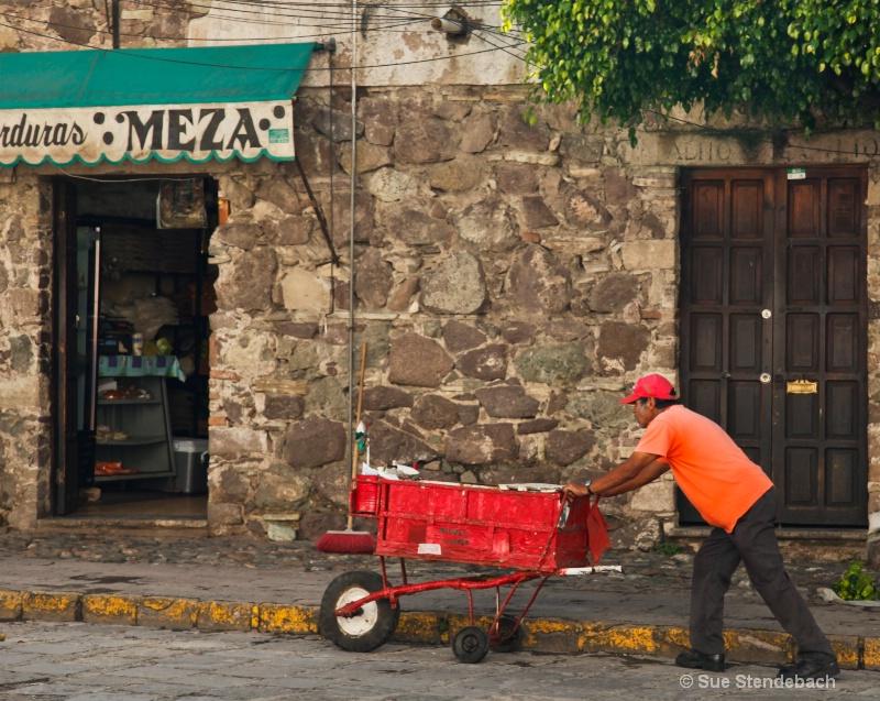 On His Way, Guanjuato, Mexico