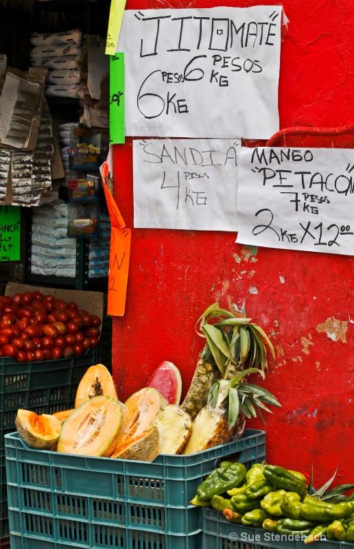 Small Market, Guanjuato, Mexico