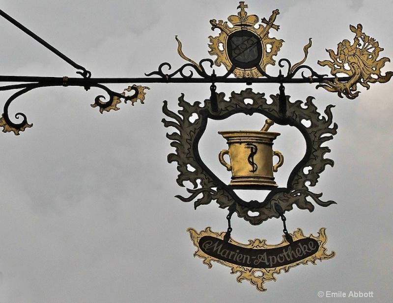 Medieval Rothenburg Apotheke