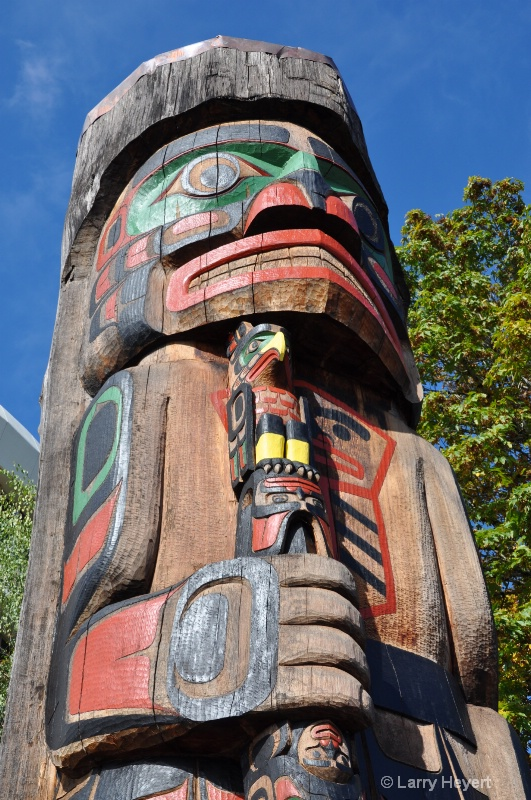 Totem Pole- Duncan, Vancouver Island, BC, Canada