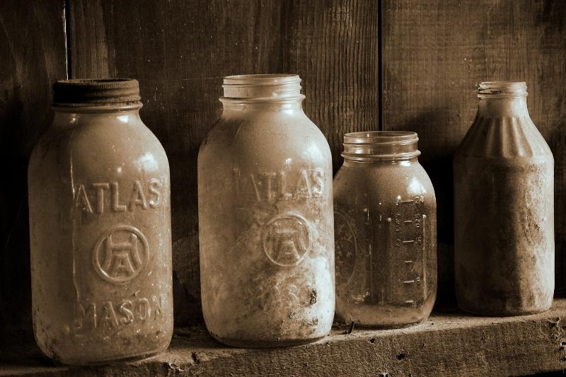 Just jars....