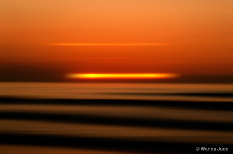 Totally  Abstract Sunrise