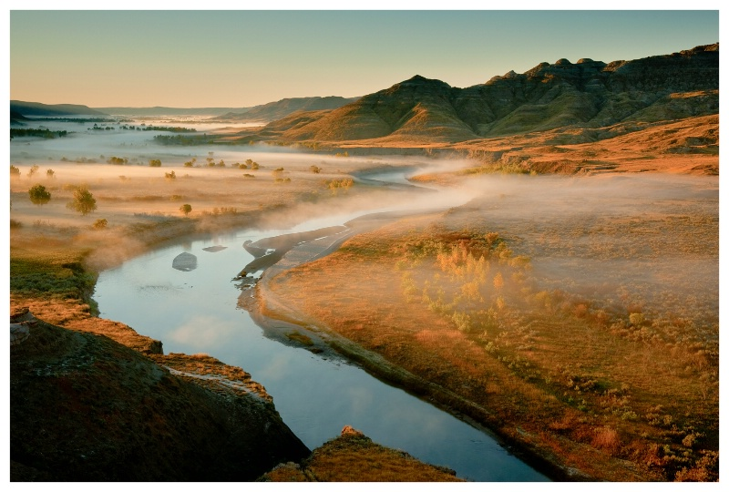 Autumn Morning, Milk River Natural Area