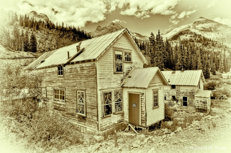 Abandoned Mine Outside Ouray, Co.