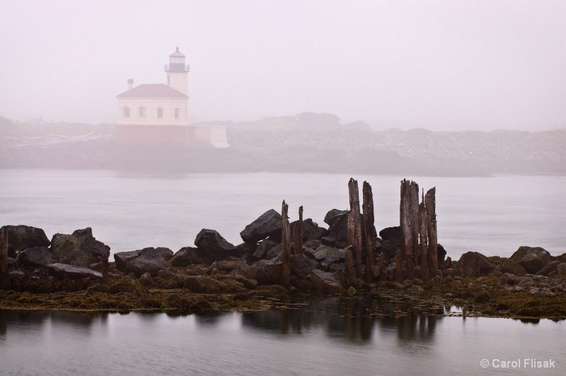 Not So Sunny Sunrise - Coquille Lighthouse