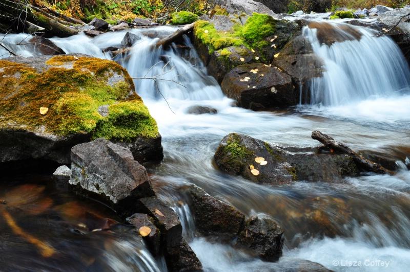 aspen waterfall glory