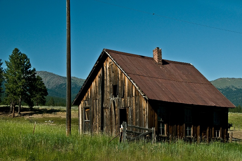 1880 Oregon Pioneer home