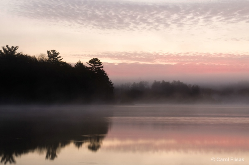Mystical Morning on Pete's Lake