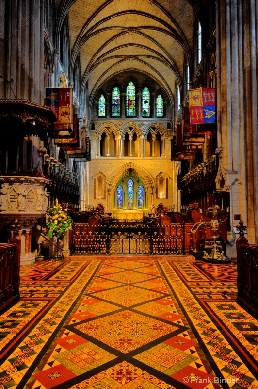 St Patricks Cathedral; Dublin