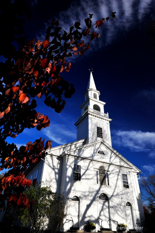 Church in Autumn