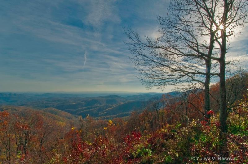 Autumn in the Blue Ridge Mountains<p>