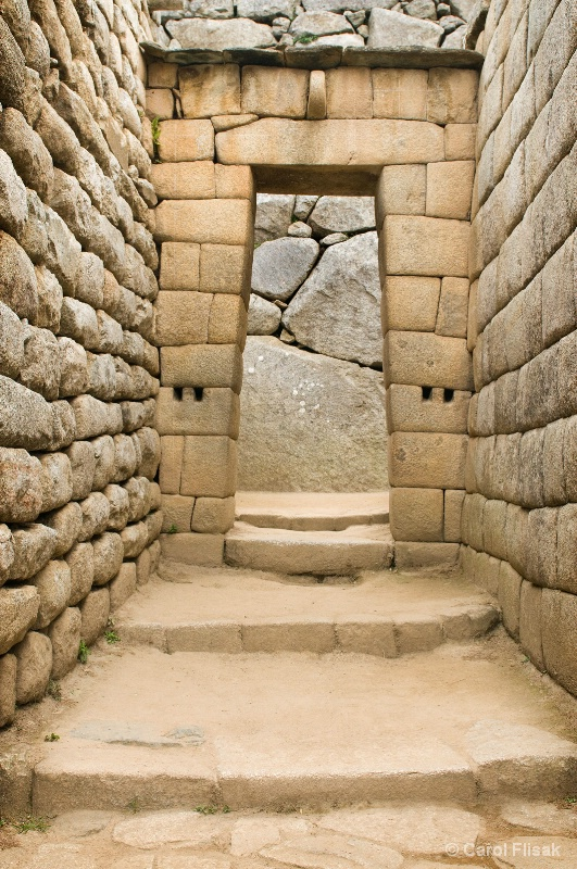 Incan Doorway ~ Machu Piccu
