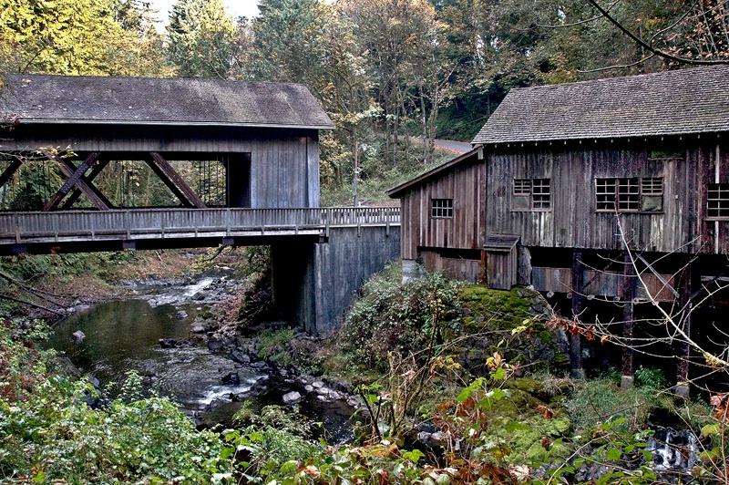 Cedar Creek Grist Mill, WA