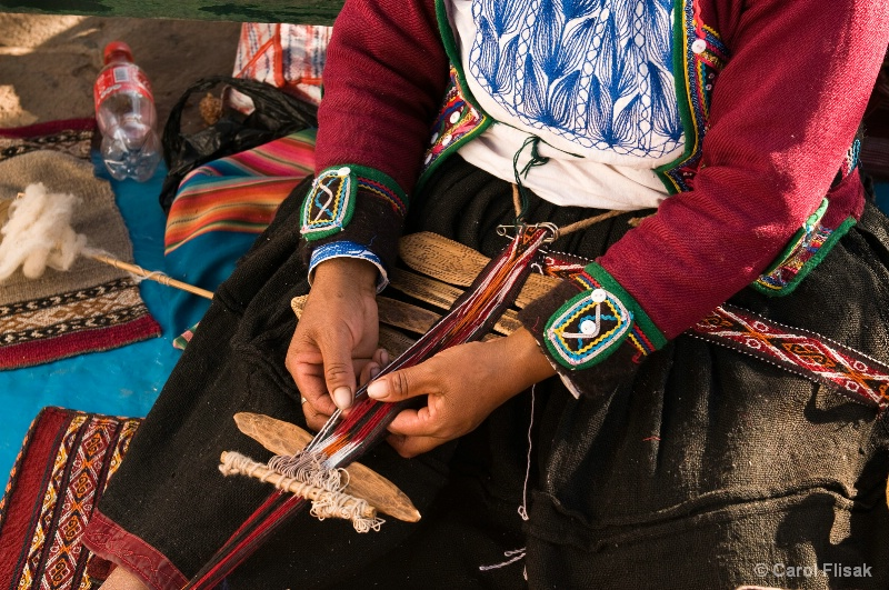 Timeworn Hands ~ Cusco, Peru