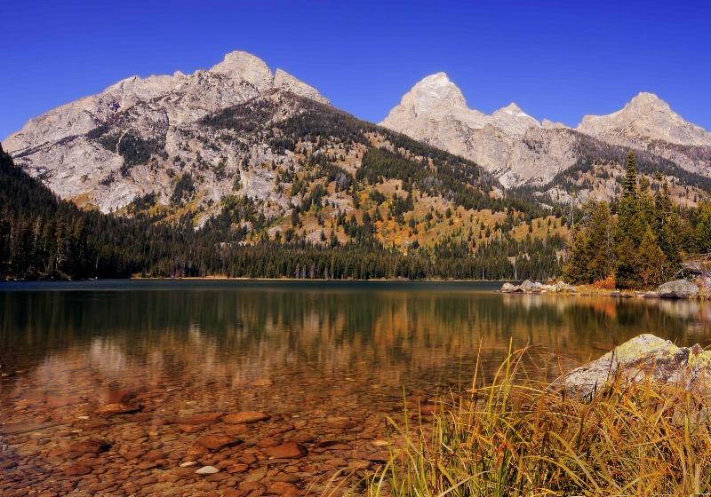 Taggert Lake Teton View