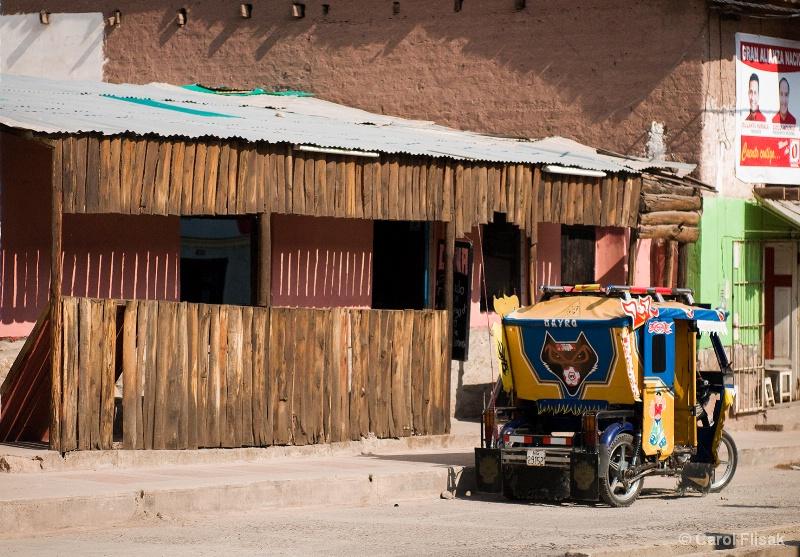 Fancy Taxi ~ Ollantaytambo, Peru