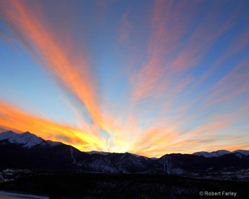 Sunset near frisco