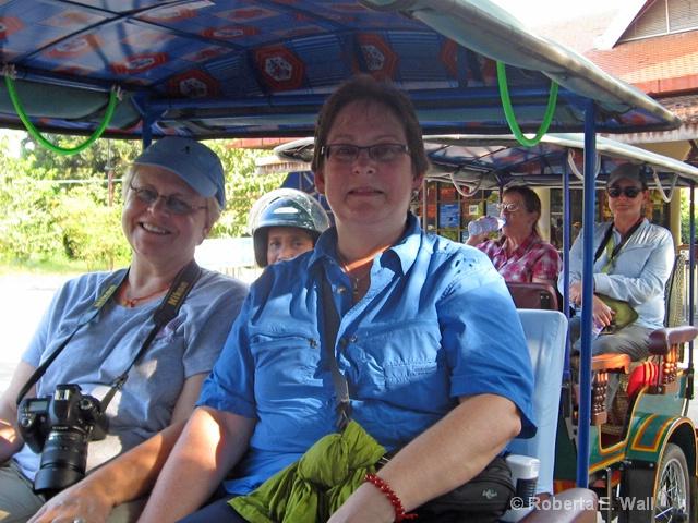 Bobi and Joan in Cambodia