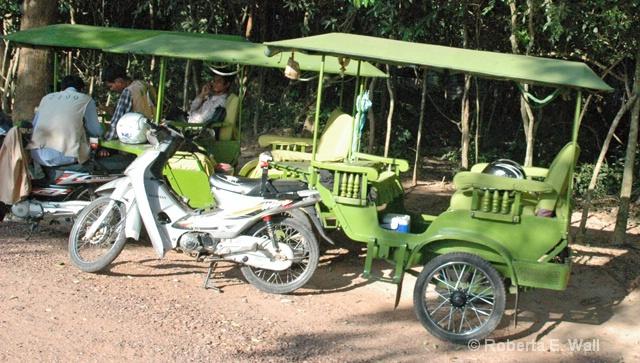 Cambodian pedicabs