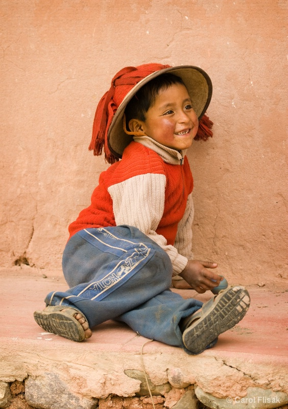 Boy with Top ~ Willoc, Peru