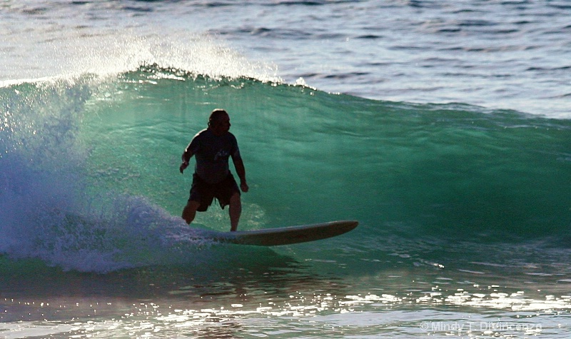 JD Surfing in Baja