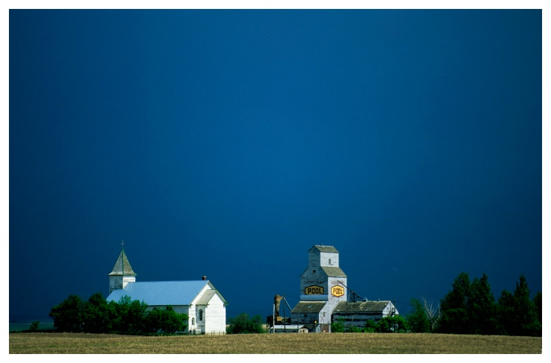 Thunderstorm, southern SK