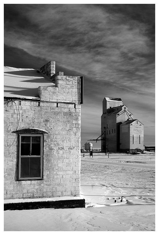 Morse Saskatchewan Grain Elevator