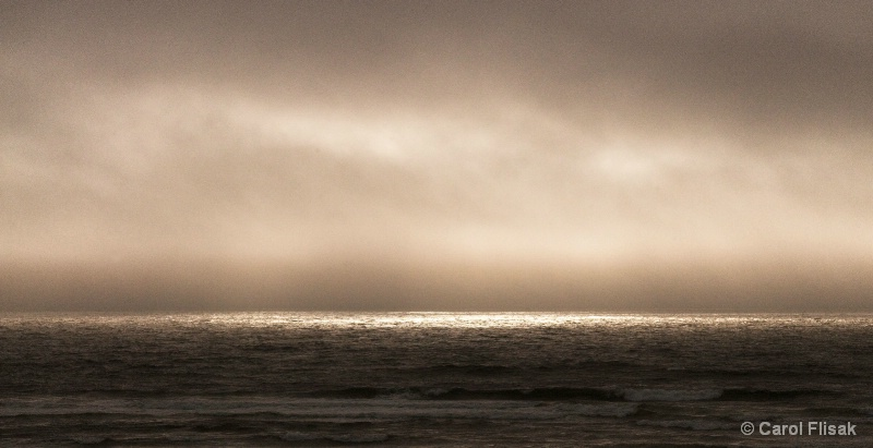 No Sunset Tonight... Marine Fog
