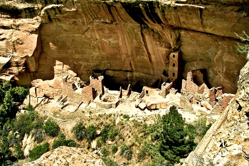Square Tower House, Mesa Verde, CO