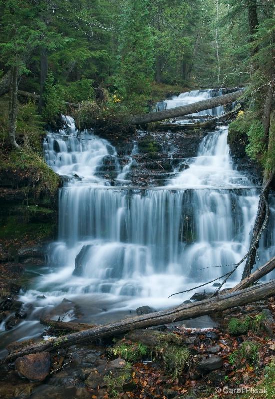 Wagner Falls 3 ~ Munising, Michigan