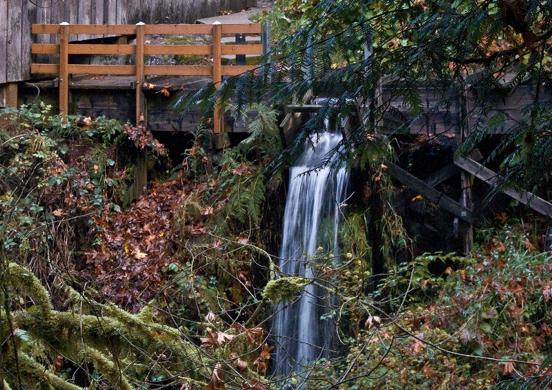 Grist Mill  Over-flow