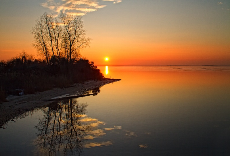 Great South Bay Sunrise Reflection