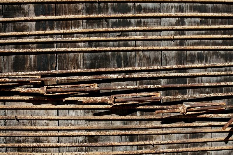 Old wooden water tank, Virginia City NV