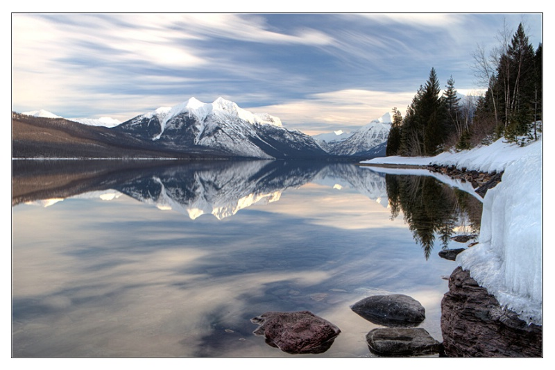 Lake MacDonald Reflections