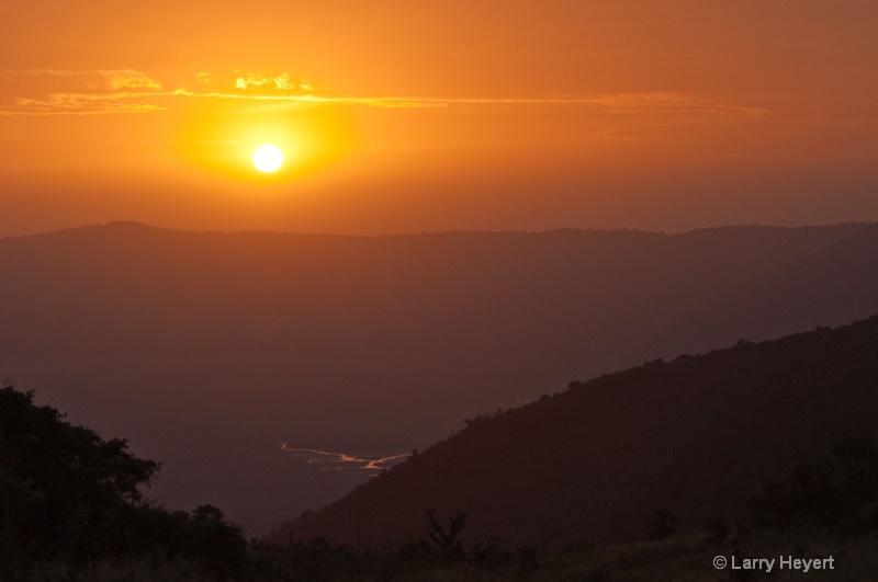 Sunrise- Ngorongoro Crater- Tanzania