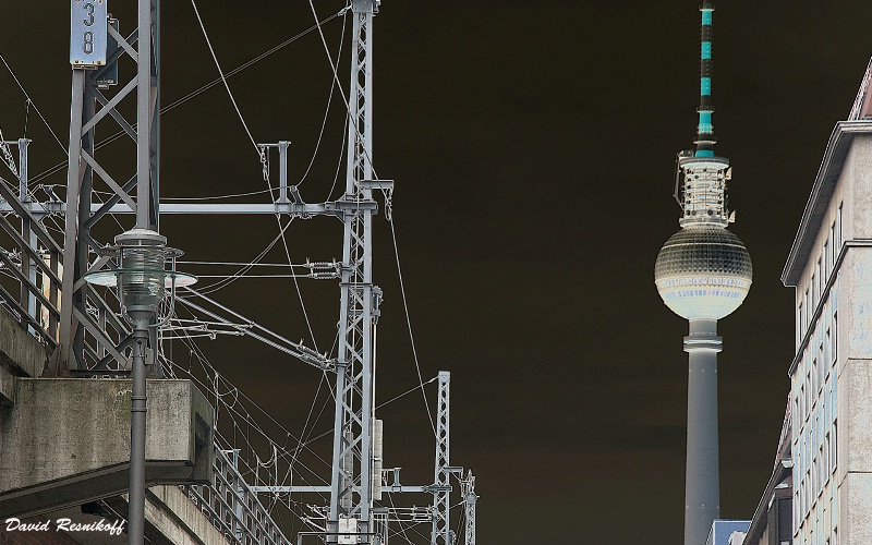 The TV Tower. Berlin