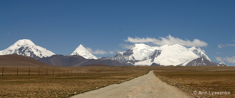 Everest Straight Ahead