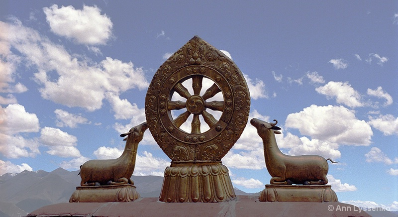 Jokhang Wheel of the Dharma