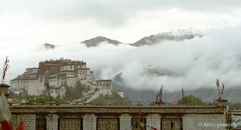 Potala in Fog