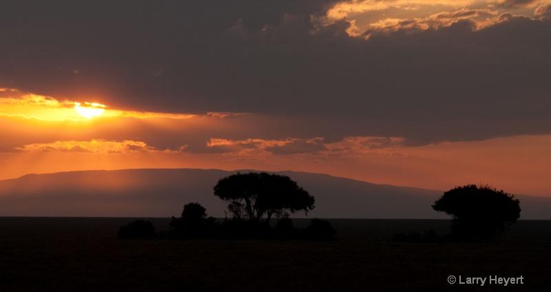 Tanzania- Serengeti sunrise