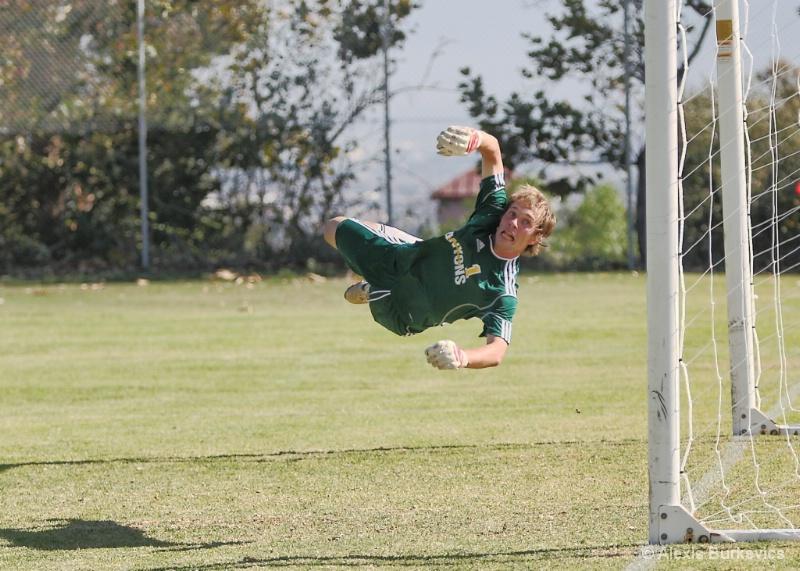 Saving the Goal!