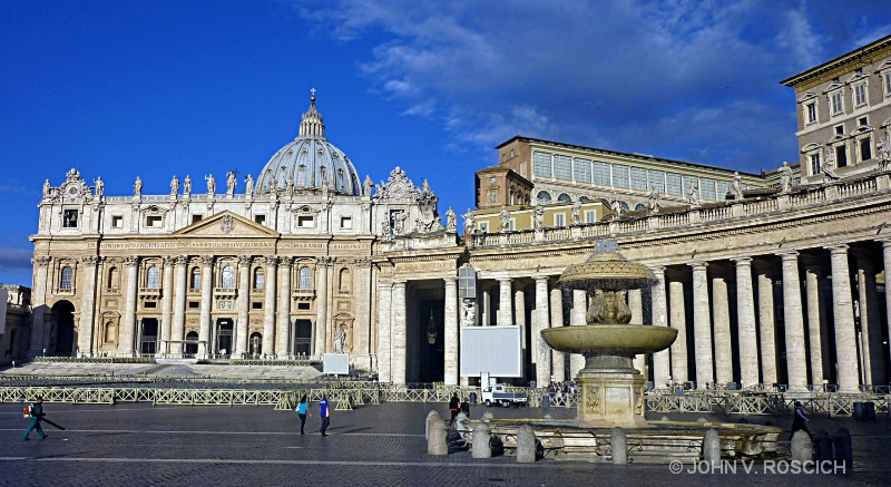 THE PAPAL BASILICA OF ST. PETER, VATICAN CITY