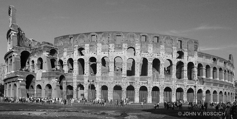 THE COLISIUM, ROME, ITALY