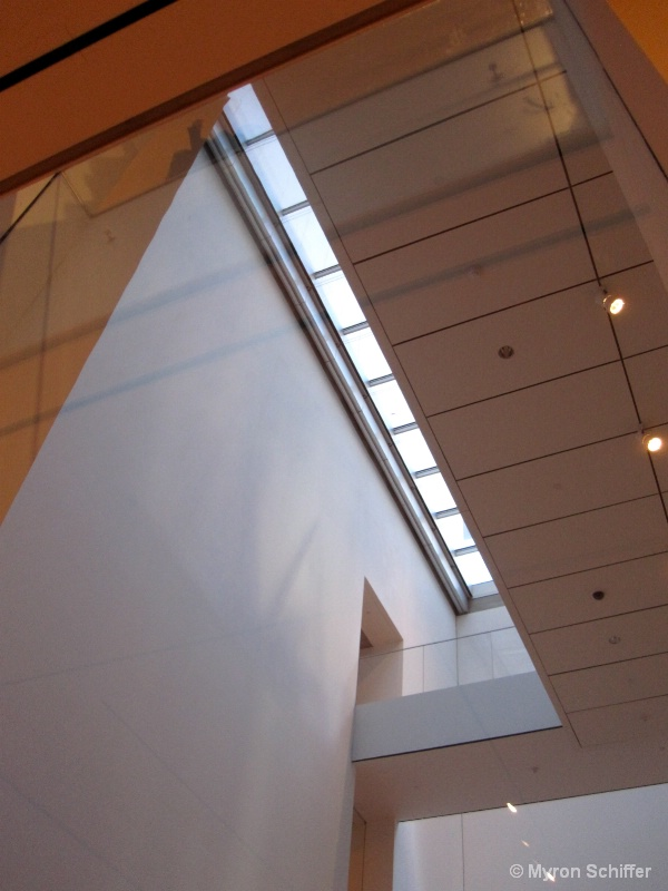 Architetural Detail at MoMA, NYC, No. 4042