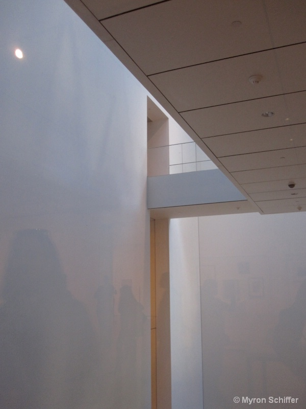 Architetural Detail at MoMA, NYC, No. 4087