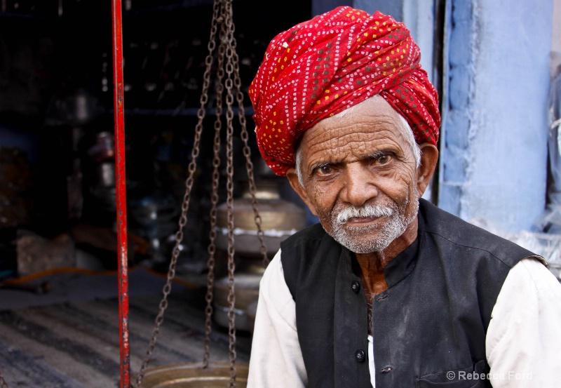 Man in Red Turban